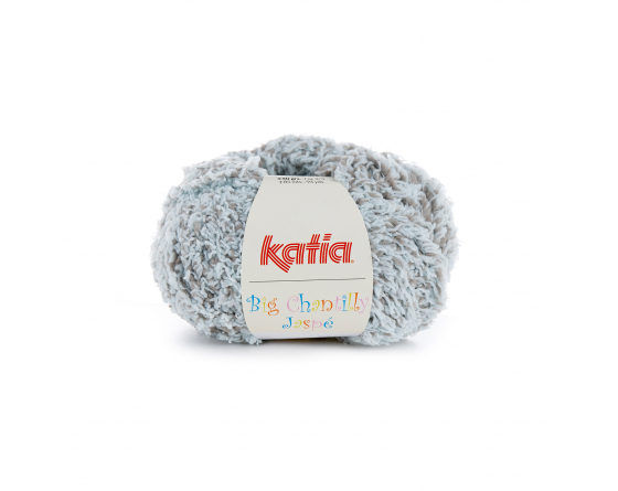 Laine Big chantilly jaspé bleu gris