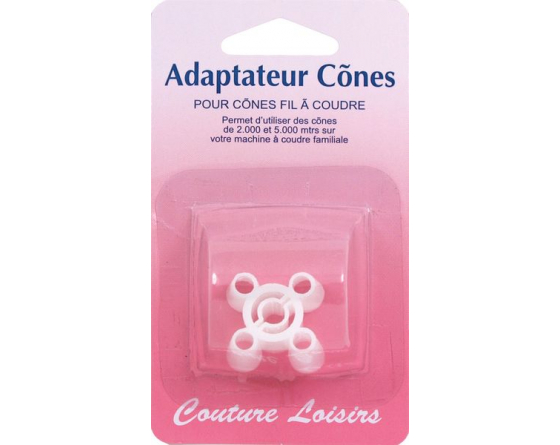 Adaptateur cônes couture loisirs