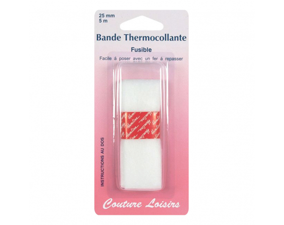 Bande thermocollante fusible