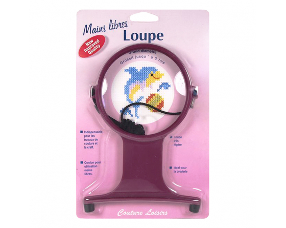 Loupe mains libres X5